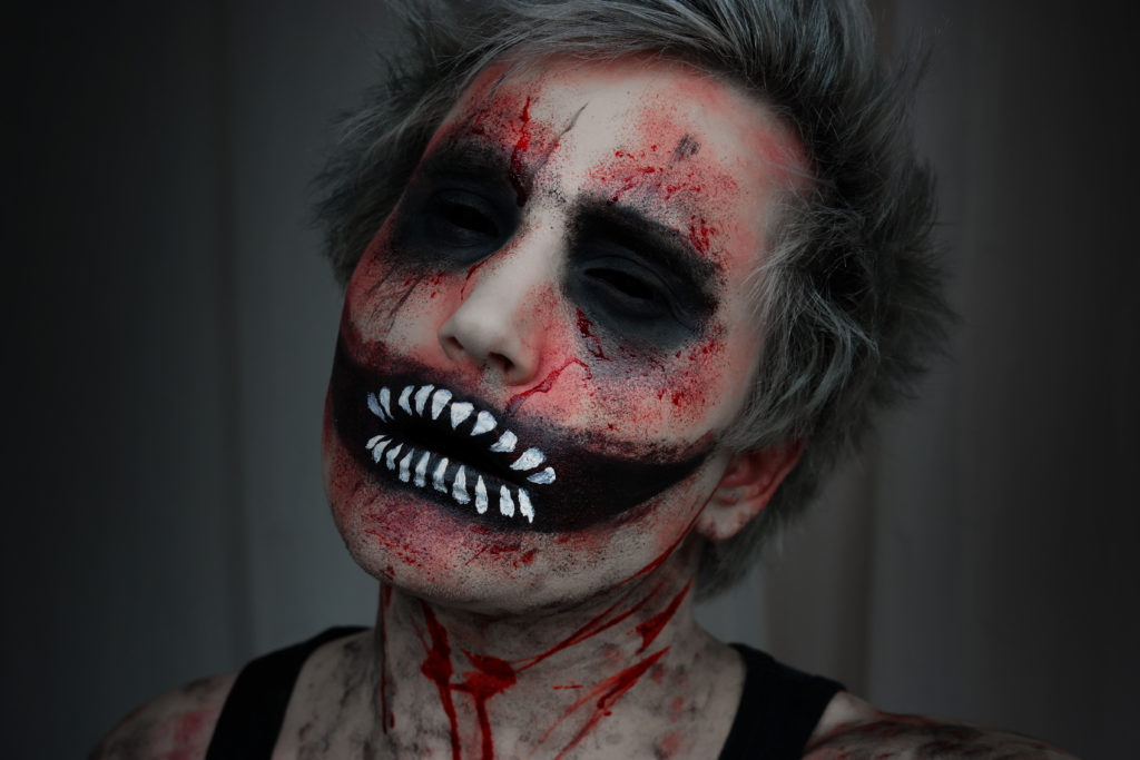 demon halloween makeup look beauty uk � makeupbymattis