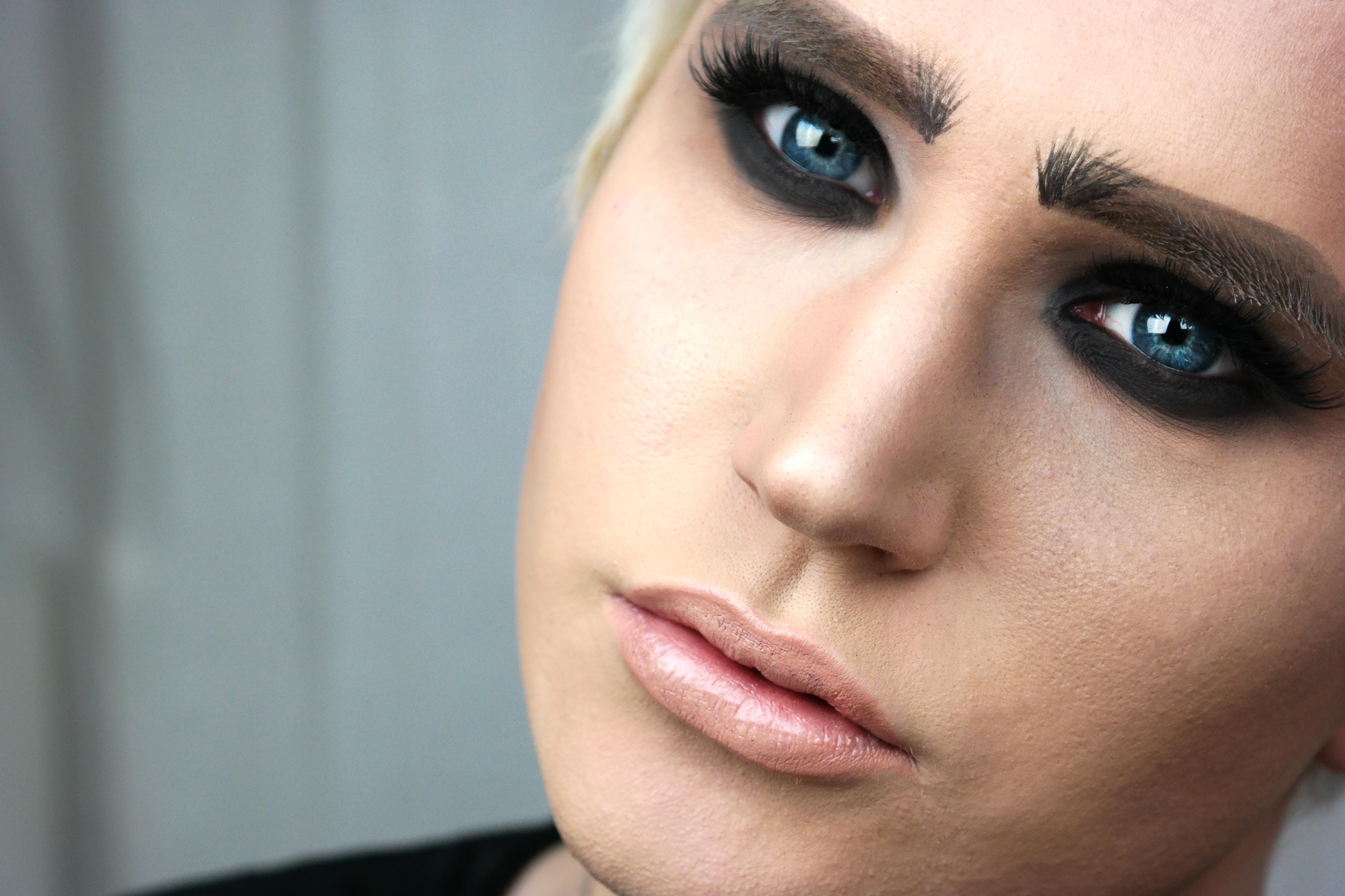 eye lips face sverige